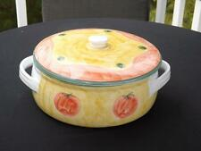 Pottery Barn Sunnyside Tomato Covered Casserole Serving Dish