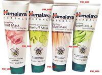 HIMALAYA Almond Cucumber Peel Mask Fruit Mask Mud Mask Neem Mask 75ml - CHOOSE