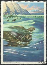 FUR SEAL, NATIONAL WILDLIFE FEDERATION CINDERELLA 1958, MNH