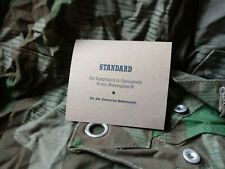 Wehrmacht seife shaving soap box ww2  Rations STANDARD