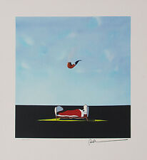 """Robert Deyber - """"The Pipe Dream"""", hand-signed lithograph"""