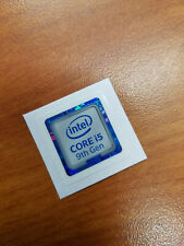 INTEL CORE i5 9th Gen CPU STICKER DECAL COMPUTER PC CASE BADGE
