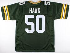 A.J. Hawk Signed Green Bay Packers Jersey (Beckett) Super Bowl champion (XLV)