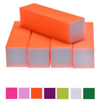 5Pcs Nail Art Buffer File Block Pedicure Manicure Buffing Sanding Polish Tools