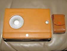 Grundig YB-P 2000 World Receiver Radio w/Alarm,Leather Case & Earpiece