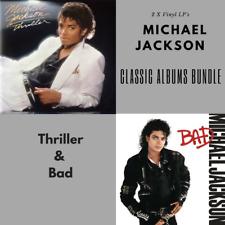 Michael Jackson - Classic Albums Bundle - Bad/Thriller - 2 x Vinyl LP *NEW*