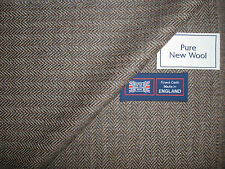 100% pure laine vierge Anglais Pays sportifs pose de la jaquette Tissu Made in England - 2.4 M