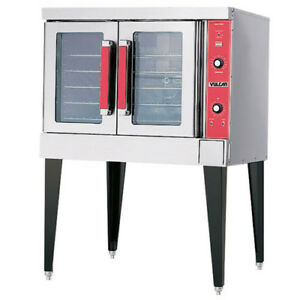 Vulcan VC4GD-15 Gas Convection Oven, Single Stack - Standard Depth, LP