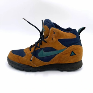 Vintage 1999 Nike ACG Winter Brown Hiking Boots Shoes Women's