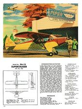 Piper PA-12 Aircraft magazine art 3/15/18a