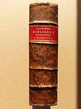 Sacrorum bibliorum vulgatae editionis concordantiae Valfray 1687 latin pie V