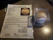 Mickey Mantle NY Yankees Team signed baseball 4 HOFs. JSA certified.