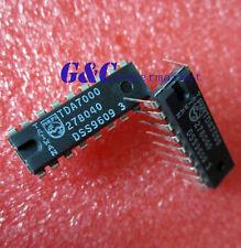 2PCS TDA7000 DIP18 FM radio IC PHILIPS NEW GOOD QUALITY  D11