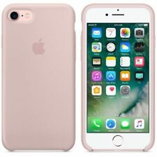 "Original Apple iPhone 7 4.7"" Silikon Handy Hülle Cover Case Schutzhülle Sandrosa"