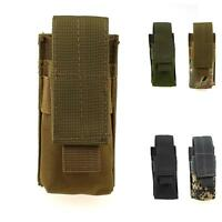 Tactical Military Molle Utility Tools Knife OC Spray Flashlight Pouch Holster