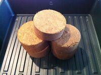 ORGANIC COCO COIR SOIL! EXPANDABLE GROW MEDIUM FOR MICRO GREENS, GARDENS, PLANTS