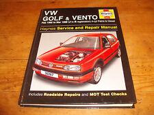 VOLKSWAGEN GOLF & VENTO 1992-1998 Ptrl & Dsl - Haynes Service & Repair Manual