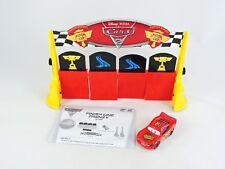 Finish Line Frenzy game Disney Pixar CARS 2 Mattel COMPLETE Lightning McQueen