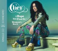 CHER - I HOPE YOU FIND IT/WOMAN'S WORLD (2TRACK)  CD SINGLE NEUF