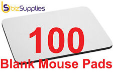 100x Blank Mouse Pads/Mats for Dye Sublimation Heat Transfer Printing