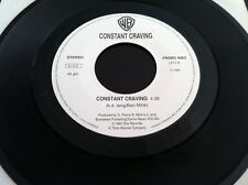 KD LANG rare Promo jb CONSTANT CRAVING 7' PHIL COLLINS EVERYDAY Juke Box 94 NM