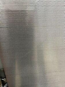 Lamiera Forata Alluminio Dim 1000x500 Foro 2 .