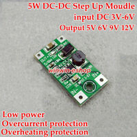 DC-DC 3-6V 3.3V to 5V 6V 9V 12V Micro Boost Step Up Converter PowerSupply Module