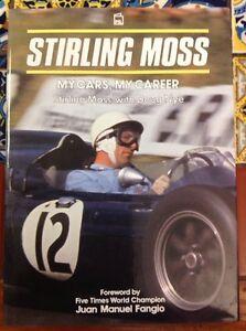 STIRLING MOSS My Cars, My Career 1992 Stirling Moss , Doug Nye HD DJ free Ship