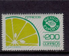 Mexico Exporta Citrus fruit.#1135a. PAPER 5.fluorescence frt. gum white.Mint NH