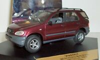 Vitesse 1/43 Scale - V98007 Mercedes Benz M Class metallic red 1998