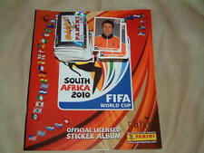 2010 South Africa World Cup Panini Album and Complete Set of Stickers Loose