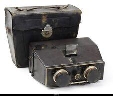 Bellieni Jumelle Nancy Stereo camera Zeiss lens Anastigmar 8/110mm Protar