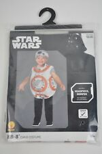 New Rubies STAR WARS BB8 Child Costume Toddler 2T-3T Halloween Headpiece &Romper
