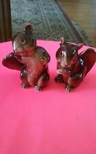 Vintage Relco Squirrel Salt And Pepper Shakers Japan