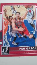 Pau Gasol Cartas Baloncesto Chicago Bulls donruss 2015/16 NBA cards Mint