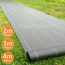 More details for heavy duty weed control fabric membrane garden landscape ground cover sheet mat