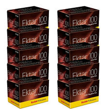 10 Rolls Kodak Ektar 100 Color Negative Print 35mm Film 36 exp. 7/2019 Date