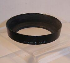 AUTHENTIC NIKON HN-2 LENS HOOD for 24mm , 28mm , 35mm Wide Angle Lenses