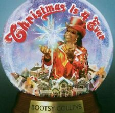 BOOTSY COLLINS - CHRISTMAS 4 EVER - BOOTSY COLLINS CD HCVG FREE Shipping