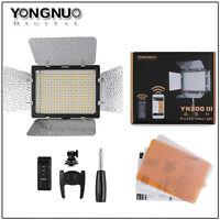 Yongnuo YN300 III LED Video Light 5500k for Camera Camcorder + mobile  APP