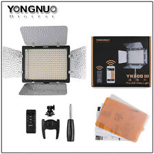 Yongnuo YN300 III LED Video Light 5500k for Camera Camcorder + mobile  APP