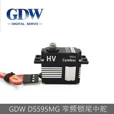 GDW DS595MG Metal Gear Coreless Tail Digital Servo For 450 - 500 RC Helicopter