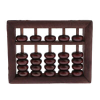 5 Rods Chinese Abacus Calculator Counting for Children Math Educational Toys