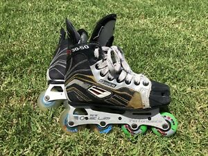 Bauer Roller Hockey Skates Inline YOUTH SIZE 2 R (shoe size 3)
