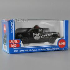 Siku 2309 1:50 Diecast Ram 1500 Us Police Patrol Wagon Dodge Pick Up Truck Model