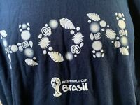 FIFA World Cup 2014 Brasil T-Shirt Size 2XL