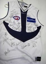 FREO DOCKERS TEAM HAND SIGNED AWAY JERSEY UNFRAMED + PHOTO PROOF + C.O.A