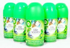 5 Air Wick FreshMatic Spray Refills LUSH HIDEAWAY - WILD BERRY COCONUT WATER MIN
