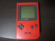 Nintendo Game Boy Pocket Console Red Japan SK
