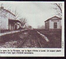 1984  --  GARE DE LA FURANNE DESERTE  P790